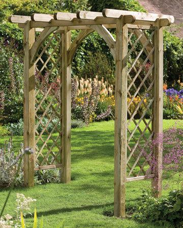 садовые арки своими руками 2